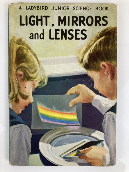 Vintage Ladybird Book - Light Mirrors and Lenses Series 621 1st First Edition